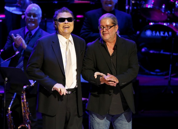 Ronnie Milsap is inducted at the 2014 Country Music Hall of Fame Induction Ceremony. Photo: Donn Jones