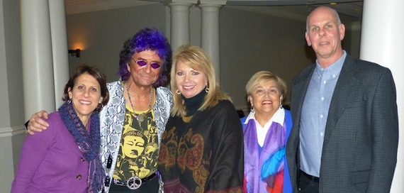 Pictured (L-R): Leadership Music Executive Director, Debbie Linn, Peterik, LM President Diane Pearson, LM's Judi Turner and Sherrill Blackman, who interviewed Peterik.