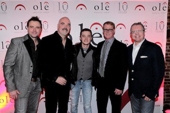 Pictured (L-R): Jeremy Stover, Robert Ott, Jordan Rager, John Ozier, Gilles Godard