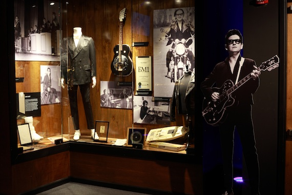 Part of Roy Orbison exhibit at the Musicians Hall of Fame and Museum