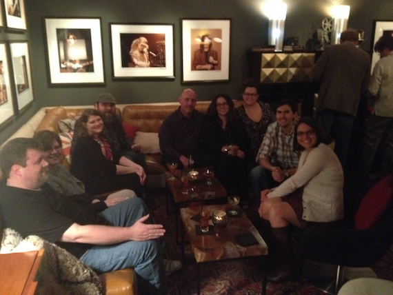 Warner/Chappell Production Music Christmas Party at SINEMA