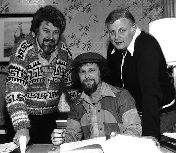 Razzy Bailey 1978 RCA w Bob Montgomery & Jerry Bradley. Photo: Alan Mayor