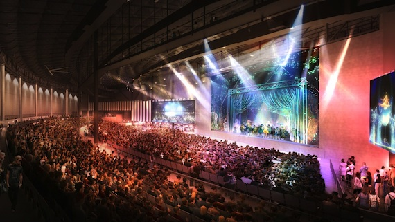 Rendering of the DFW Pavilion