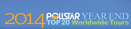 pollstar top 20 2014