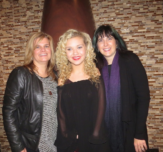Pictured (L-R): Lynn Tinsey, Richlyn Marketing Partner; Rion Paige, and Kate Richardson, Richlyn Marketing Partner.