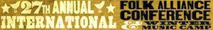 27th annual Folk Alliance Conference1