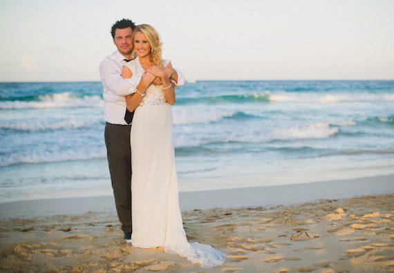 Dee Jay Silver and wife Jenna Michelle Straub. Photo: Katya Nova