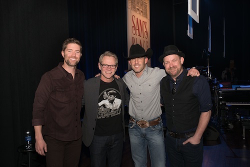 Pictured (L-R): Josh Turner, Steven Curtis Chapman, Aaron Watson, and ??