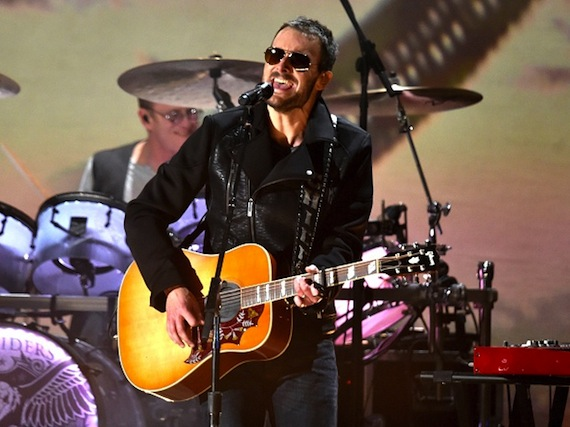 Eric Church performs on the 57th Annual GRAMMY Awards on Feb. 8 in Los Angeles Photo: Kevin Winter/WireImage.com