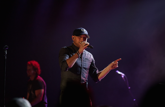 Cole Swindell performs during the CRS New Faces Showcase