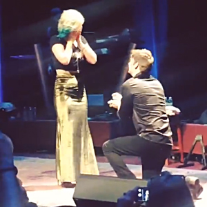 Maggie Rose proposed to by Austin Marshall. Photo: Facebook