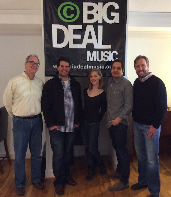 Pictured (L-R): Dale Bobo, Greg Gallo, Sarah Emily Parish, Pete Robinson, and Scott Safford