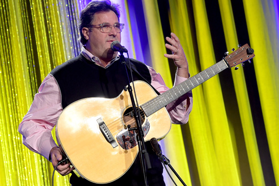 Vince Gill performs at the T.J. Martell Foundation's 7th Annual Nashville Honors Gala.