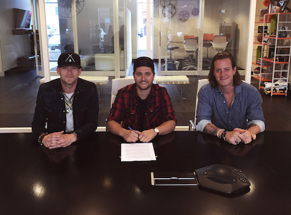 Pictured (L - R): Brian Kelley, Jordan Schmidt, and Tyler Hubbard Photo: Courtesy of Tree Vibez Music