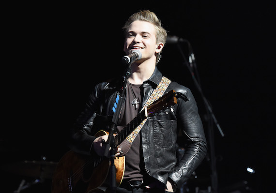 Hunter Hayes performs. Photo: Getty Images