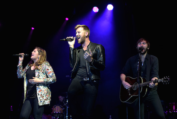 Lady Antebellum performs. Photo: Getty Images
