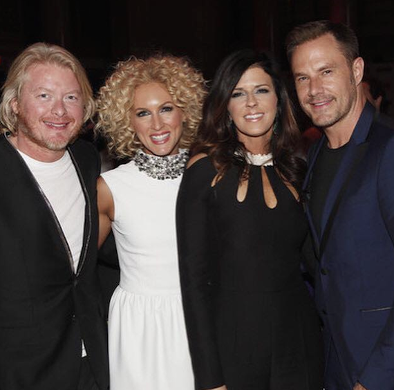 Little Big Town at the 13th Annual Can Do Dinner. Photo: Facebook