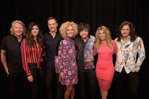 Pictured (L-R): Little Big Town and The Band Perry. Photo: Getty Images