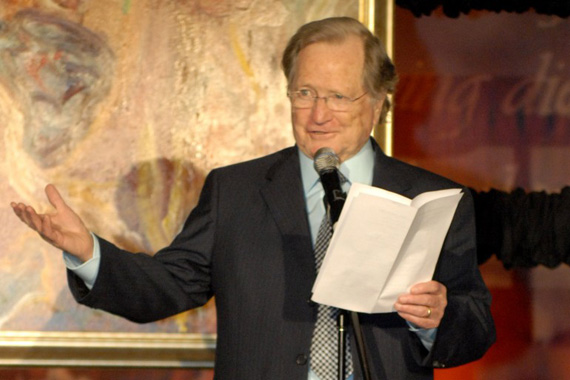 Billy Ray Hearn accepts his Special Citation of Achievement at the 2010 BMI Christian Awards. Photo: Kay Williams/BMI