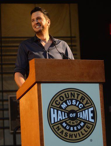 Luke Bryan. Photo: Jason Davis/Getty Images for CMHOF