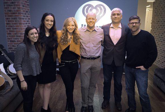 Pictured (L-R): iHeartMedia's Jenny Sperling, iHeartMedia's Marissa Morris, Artist Olivia Lane, iHeartMedia's Clay Hunnicutt, Big Spark Music Group's Denniz Kurtz, Star Farm Nashville's Michael Powers.