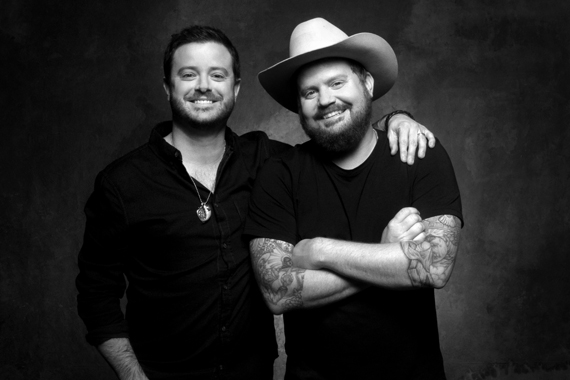 Wade Bowen and Randy Rogers. Photo: Jim McGuire