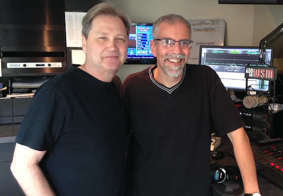 Pictured (L-R): Steve Wariner and Charlie Mattos