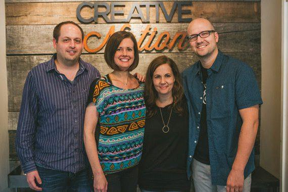 Pictured (L-R): Jeff Skaggs, Beth Laird, Lori McKenna, Luke Laird. Photo: Spencer Combs