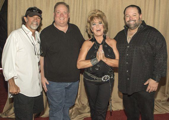 Pictured (L-R): Steve Lassiter, Kirt Webster, Tanya Tucker, Danny Nozell