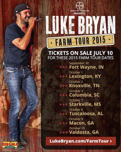 Luke Bryan Nashville  Tour