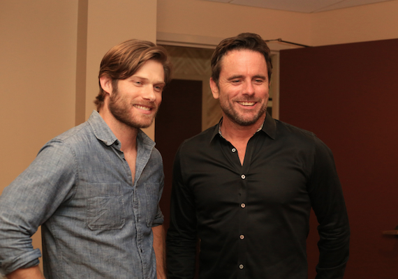Chip Esten at Stars For Second Harvest at The Ryman.