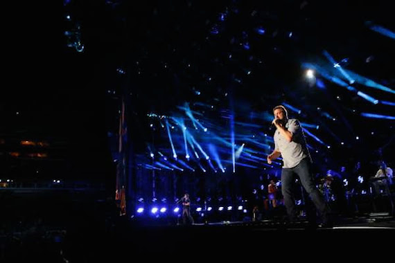 Randy Houser Performs at LP Field on Friday, June 12 Photo: Donn Jones