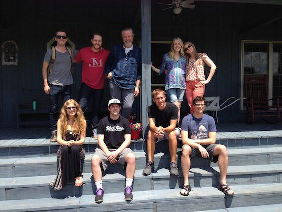 . (pictured from left to right, Bottom row; Alex Kline, Josh Kerr, Blake Chaffin, Ben Cooper. Top row; Brandon Lancaster, Jordan Reynolds, Robert Earl Keen, Melissa Fuller and Lizzy McAvoy.