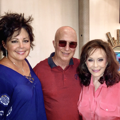 Kelly Lang, Paul Shaffer, Loretta Lynn