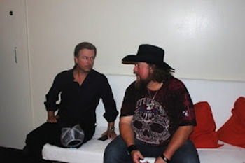 David Spade and Colt Ford