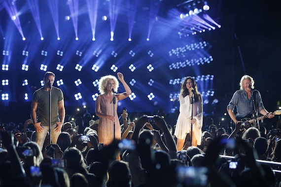"Reigning CMA Vocal Group of the Year Little Big Town returns to host ""CMA Music Festival: Country's Night to Rock"" for the third time. The special airsTuesday, Aug. 4 on the ABC Television Network. Photo: Hunter Berry / CMA"