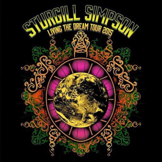 sturgill simpson 2015 tour