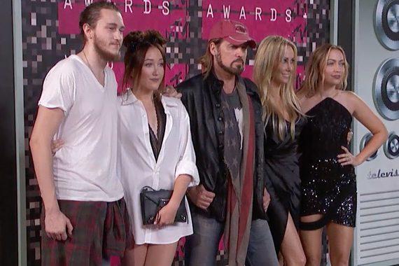 Cyrus Family. Photo: MTV