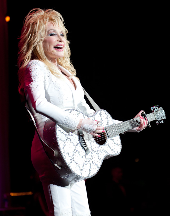 Dolly Parton at the Ryman, July 31, 2015. Photo: Stacie Huckeba