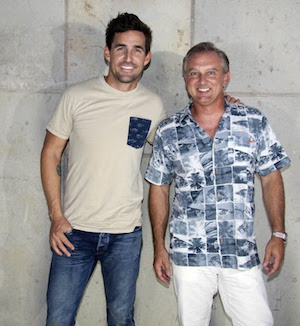 Jake Owen with Salt Life president