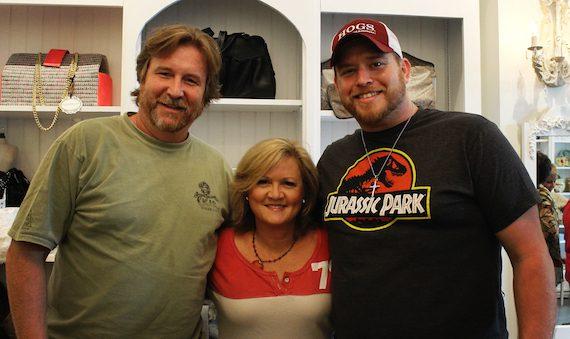 Pictured (L-R): Jon Mabe, Connie Harrington, Lance Carpenter.