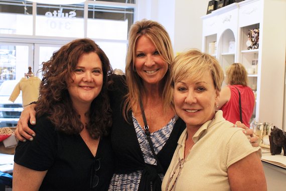 Stephanie Cox, Renee Bell and Celia Froehlig