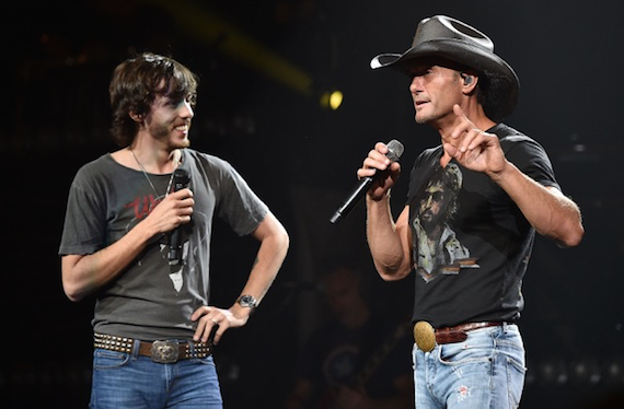 Tim McGraw with Chris Janson