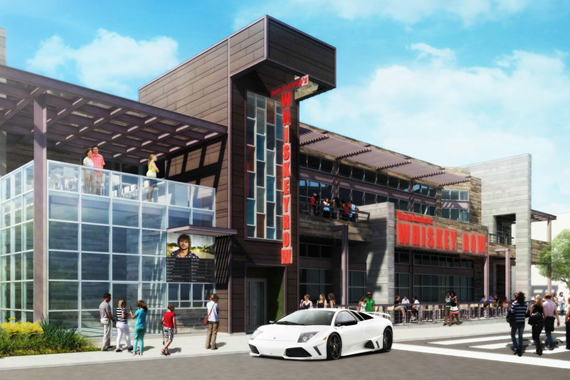 Whiskey Row Las Vegas Rendering.