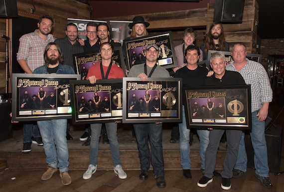 Pictured: (L-R): (back row): ASCAP's Jon Nite, ATH's Graham Deloach, Zach Brown, and Bill Satcher, BMLG's Katherine Susemichael, Kelsey Hamrick, and Andrew Thoen. (Front row): BMLG's Matthew Hargis, BMI's Ross Copperman, BMLG's John Zarling, ATH's Michael Hobby, BMLG's Scott Borchetta, Jimmy Harnen, Stacy Blythe and Angie Coonrod  MEDIA ONLY – https://bmlg.box.com/s/4b2c8wtb7140nojjesd34pu3h39e9tvd Photo Credit: Steve Lowry Pictured: (L-R): (back row): Warner Chappell's Travis Carter, Sony/ATV's Josh VanValkenburg, BMI's Perry Howard, ATH's Zach Brown, Michael Hobby, Bill Satcher and Graham Deloach. (Front row): Producer Dave Cobb, BMI's Ross Copperman, ASCAP's Jon Nite, BMLG's Scott Borchetta and Jimmy Harnen and ASCAP's Mike Sistad MEDIA ONLY – https://bmlg.box.com/s/6bw18ma9gwb4es43mbv2x7l6c8jpleha Photo: Steve Lowry