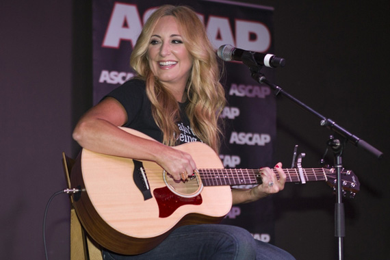 Lee Ann Womack performs at ASCAP's 2015 P.R.O.mote The Vote event.