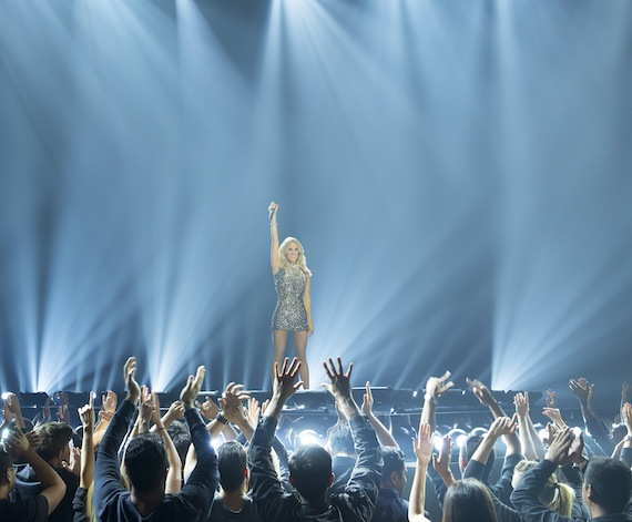 "Carrie Underwood Promo"" -- Pictured: Carrie Underwood -- (Photo by: Paul Drinkwater/NBC)"