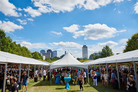 Saturday and Sunday's Grand Taste at Nashville's Bicentennial Lawn.