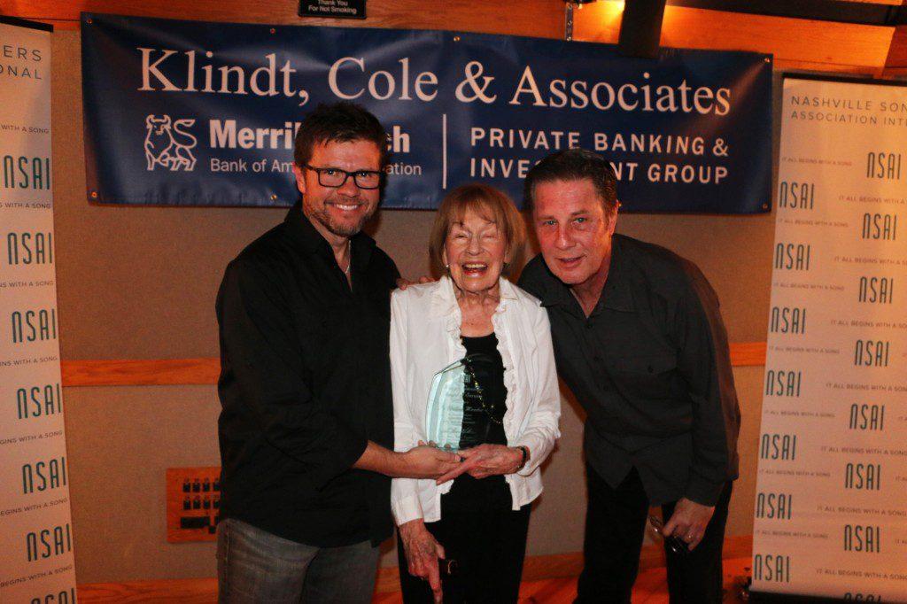 Pictured (L-R): Lee Thomas Miller, Jo Walker Meador, and Bart Herbison.