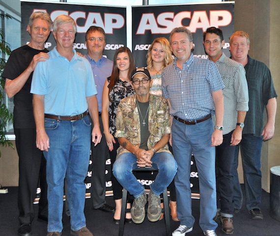 (L-R): Ralph Murphy (ASCAP), Lew Garrison (Garrisongs 1-4-5), Matthew Becket (Beckett Law), Kelly Donley (Safford Motley, PLC), Jack Williams, Beth Brinker (ASCAP), Lynn Gann (LGME!), Michael Martin (ASCAP) & Mike Sistad (ASCAP).